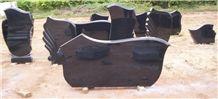 Momument Jet Black Headstone