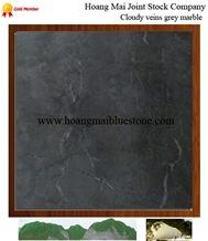 Cloudy Veins Vietnam Grey Marble, Nghe an Grey Marble Slabs