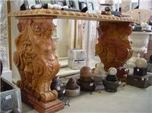 Stone Carving Marble Table