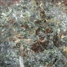 Green Ray Polished, Russian Federation Green Granite Slabs & Tiles
