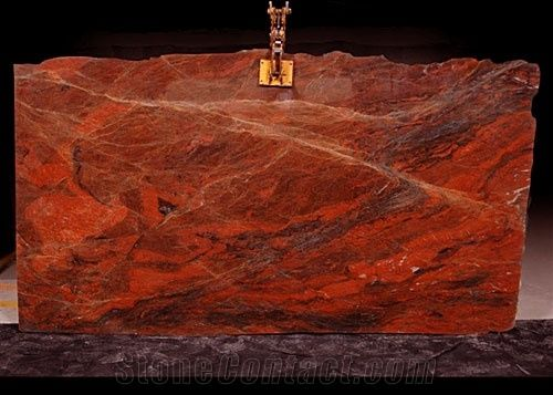 Red Holy Red Hollywood Granite Slabs From Brazil