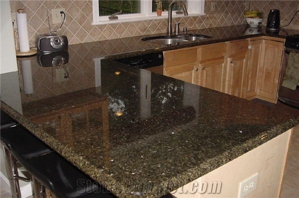 Verde Uba Tuba Kitchen Top Ubatuba Green Granite From