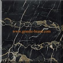 Portoro Marble Slabs & Tiles, China Black Marble