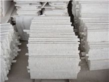 China Crystal White Marble Culture Stone