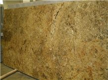 Golden Sunflower, Golden Sun Flower Granite Slabs