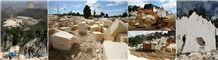 Java Cream Marble Blocks, Indonesia Beige Marble