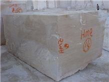 Classic Travertine Block, Turkey Beige Travertine