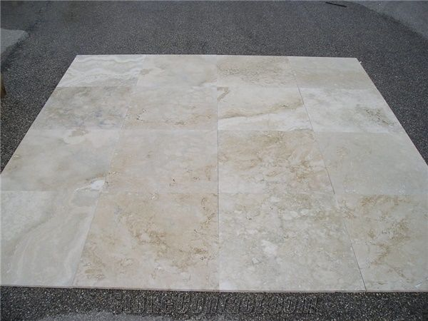 Cross Cut Travertine Tiles Rustic Travertine From Italy