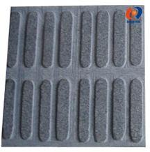 Black Mongolia Basalt Blind Paving Tiles