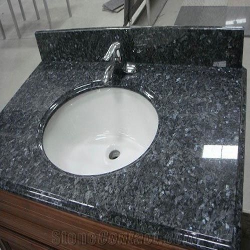 Blue Pearl Granite Vanity Top From China 169827