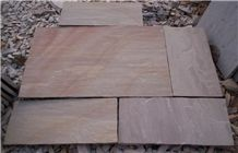 Raveena Sandstone Tiles & Slabs, Camel Dusty, Multy Sandstone, Beige Sandstone Floor Covering Tiles
