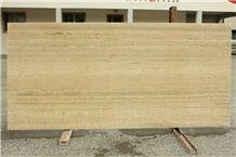 Travertino Ivory, Romano Classico Travertine Slabs