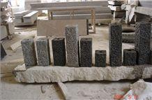 Black Granite Pillar, Granite Palisade, China Impala Black Granite Palisade