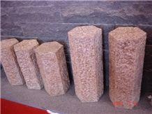 G682 Stone Palisade, G682 Yellow Granite Palisade