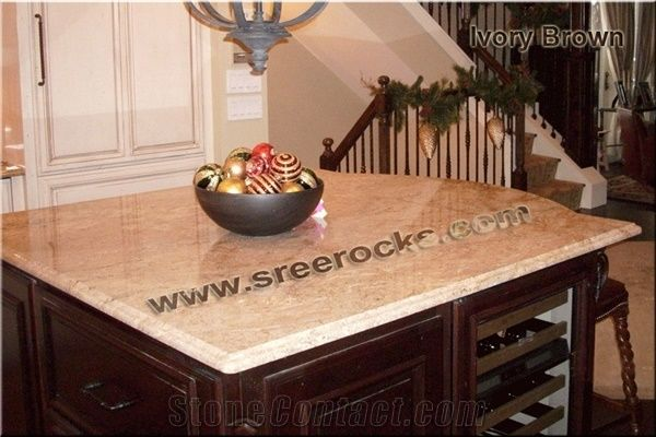 kitchen tiles ideas pictures ivory brown granite kitchen countertops from india 167581 20126