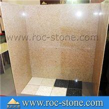 Granite Bathroom Wall Panel, G682 Yellow Granite Bath Tub ...