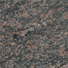 Kashina Gora, Russian Federation Brown Granite Slabs & Tiles