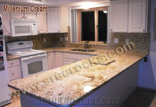 kitchen tiles ideas pictures millennium granite countertops yellow granite from 20126