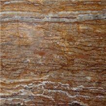 Persian Walnut Travertine Slabs, Iran Brown Travertine