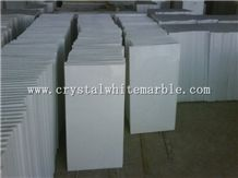 Vietnam White Marble( Crystal White Marble), Pure White Marble Slabs