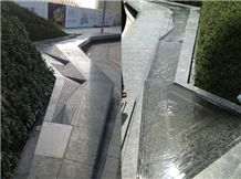 Benches , Water Channel, Olive Green Granite Other Landscaping