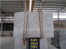 Picasso White Slab and Tile, China White Marble