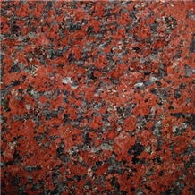 Rosso Africa Red Granite Slabs