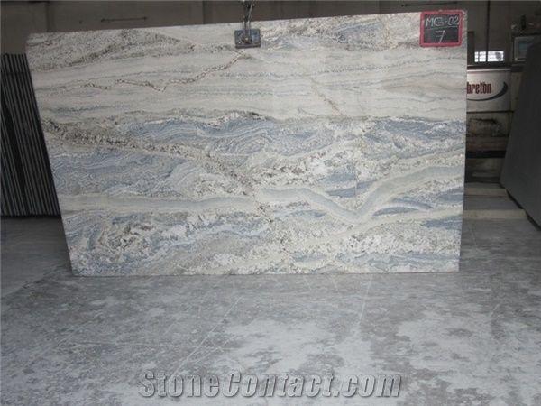 Monte Cristo Granite Slabs India White Granite