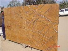 Rainforest Gold Marble Slabs, India Yellow Marble