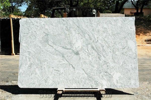 Cotton Motion Granite Block Brazil White Granite