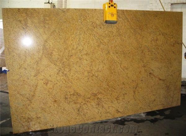 Madura Gold Granite Slabs India Yellow