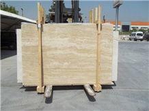 Denizli Light Travertine Slabs,Tiles, Beige Travertine Flooring Tiles, Walling Tiles