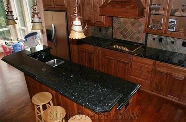 Kitchen Countertop , Granite Countertop,Emerald Pearl Green Granite ...