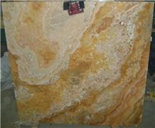 Yellow Onyx Slabs, Pakistan Gold Yellow Onyx