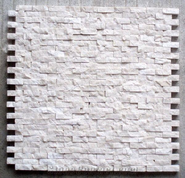 White Quartzite Mosaic Tile Stone