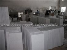 Vietnam Crystal White Marble, Pure White Marble Slabs