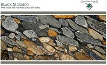 Black Mosaico - Golden Marinace, Marinace Gold Granite Slabs