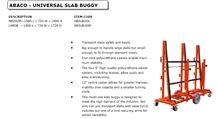 ABACO Universal Slab Buggy