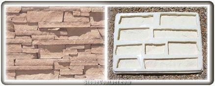 Concrete Molds, Ledgsetone Stone Veneer Molds from United States