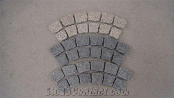 Natural Stone Paver Grey Granite Pavers From China Stonecontact Com