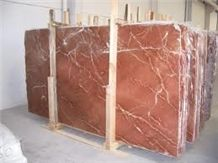 Rojo Quipar Claro Slabs, Spain Red Marble