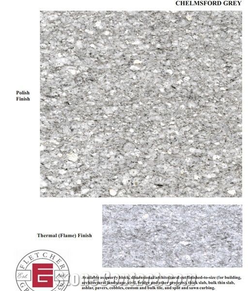 Chelmsford Gray Granite United States Grey Slabs Tiles