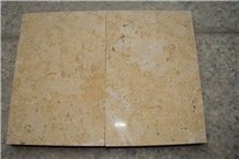 China Yellow Limestone Slabs & Tiles