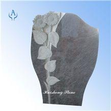 German Tombstone, Bahama Blue Granite