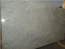 Kashmir White Granite Slabs, India White Granite