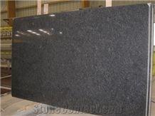 Steel Gray Granite Slabs, India Grey Granite