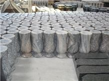 Impala Black Granite Vases