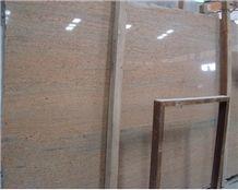 Raw Silk Granite Slabs, India Pink Granite