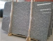 Wave White Granite Slab, China Grey Granite