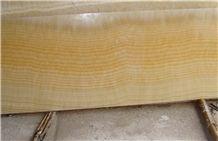 Yellow Onyx Slab